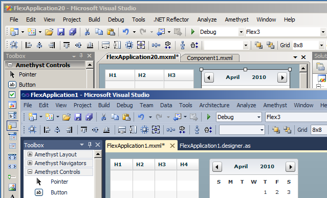 SapphireSteel Software: Flex In Visual Studio 2010